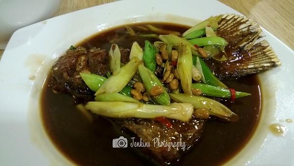 Threadfin Tail deep fried with black bean -- Xu Jun Sheng (Long Ji) 许俊盛 (隆记)@121 Joo Chiat Road
