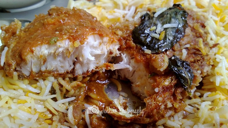 Fish is only available on Friday, personally like this over the mutton version -- Ali Nachia Nasi Briyani Dum@5 Tanjong Pagar #02-07