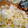 Rice is nicely cooked. -- Ali Nachia Nasi Briyani Dum@5 Tanjong Pagar #02-07