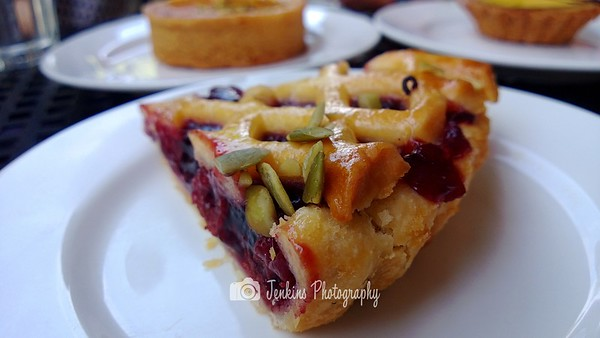 Apple Cherry Tart, not impressed by it. -- Baker & Cook @ 77 Hillcrest Road