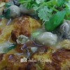 Served with Oyster and sauce over  the crispy egg-- Ah Orh Seafood@115 Jalan Bukit Merah
