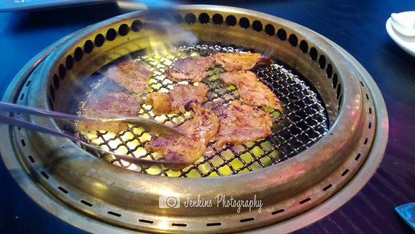 Pork belly on fire! -- Magosaburou 燒肉孫三郎 (シンガポール)@Ion Orchard