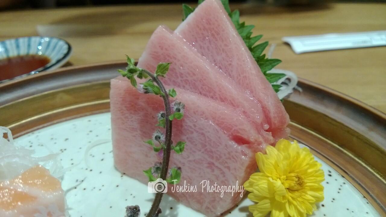 Otoro sashimi -- Tampopo@Liang Court