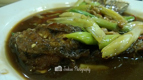 Crispy fish skin -- Xu Jun Sheng (Long Ji) 许俊盛 (隆记)@121 Joo Chiat Road
