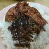 Simple dish. I can just keep eating the rice with the gravy garnish over it -- Sin Heng Claypot Bak Kut Teh@439 Joo Chiat Road