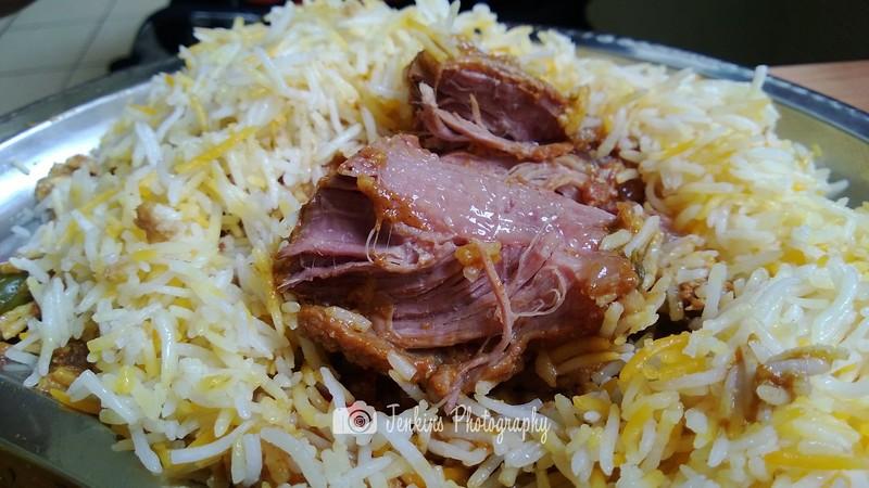Nicely cook though - -- Ali Nachia Nasi Briyani@5 Tanjong Pagar #02-07