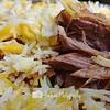 Mutton Briyani. Thought the meat is abit dry. -- Ali Nachia Nasi Briyani@5 Tanjong Pagar #02-07