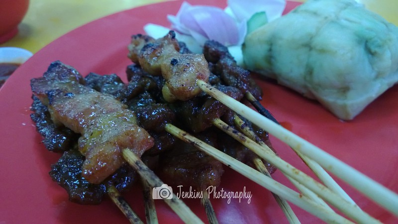 Satay -- 后港六条石@965 Upper Serangoon Road