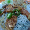 $2.50 .. value for money! The vemicille's look is deceiving. Its savoury with the sauce dressing -- 素食小吃@36 Telok Blangah Rise FC