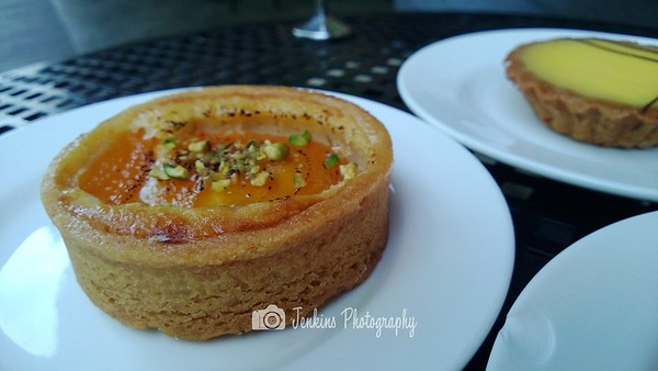 Apricot tart. My favourite!  -- Baker & Cook @ 77 Hillcrest Road