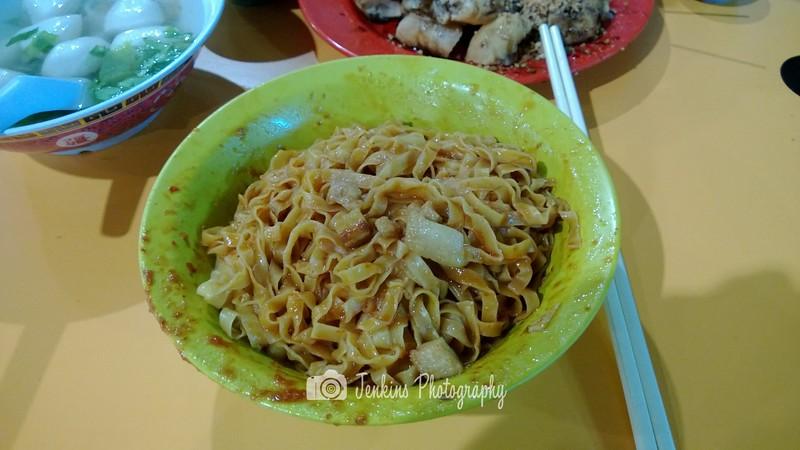 福成春鱼圆粿条面 @ Bedok South Hawker Centre (Hock Seng Choon Fish Ball Kway Teow Mee) - Noodle is QQ but a little too moist for my liking