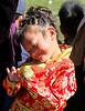 Shangri-La, Tibetan girl attending the Horse Festival