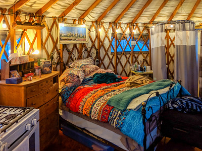 Yurt in the Mountains-9