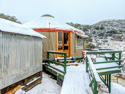 Yurt in the Mountains-6