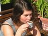 small cup, hot water<br /> <br /> קרספי תופסת תורכי קטן
