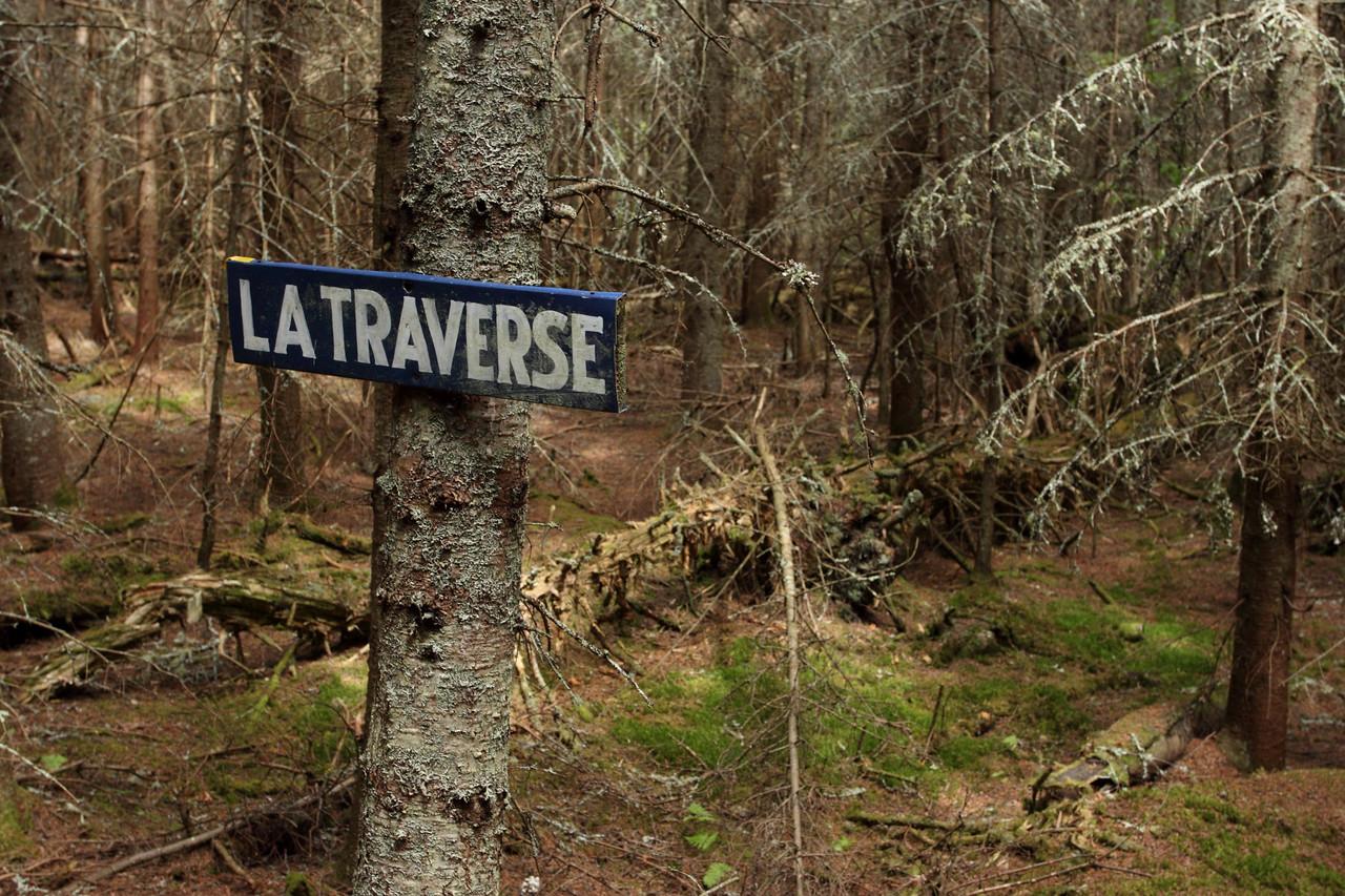 Sentier de la Traverse