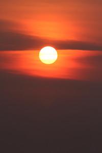 Coucher de soleil - île aux Basques