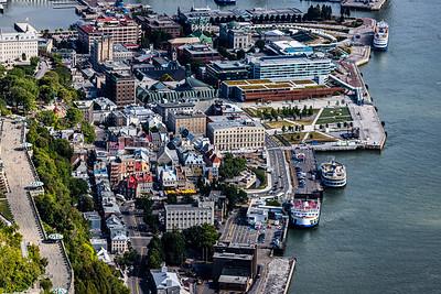 Vieux Québec Quartier Champlain