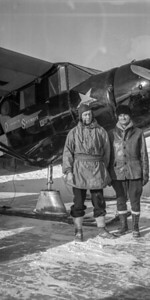 Hivers 1937 Lac Macamick Abitibi