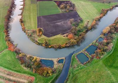 Rzeka Odra i dopływ Rudy