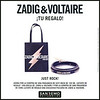 ZADIG & VOLTAIRE Just Rock! 2017 Spain (San Remo stores) format 20 x 20 cm 'Tu regalo!'