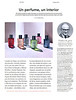 ZARA HOME The Perfume Collection (Absolutely Sublime - Tonka Wood - Cuir Velvet - Aqua Bergamota - Floral Mystery - Evitorial Twist) 2016 Spain (advertorial Icon) 'Un perfume, un interior'