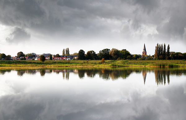 Wageningen in de wolken