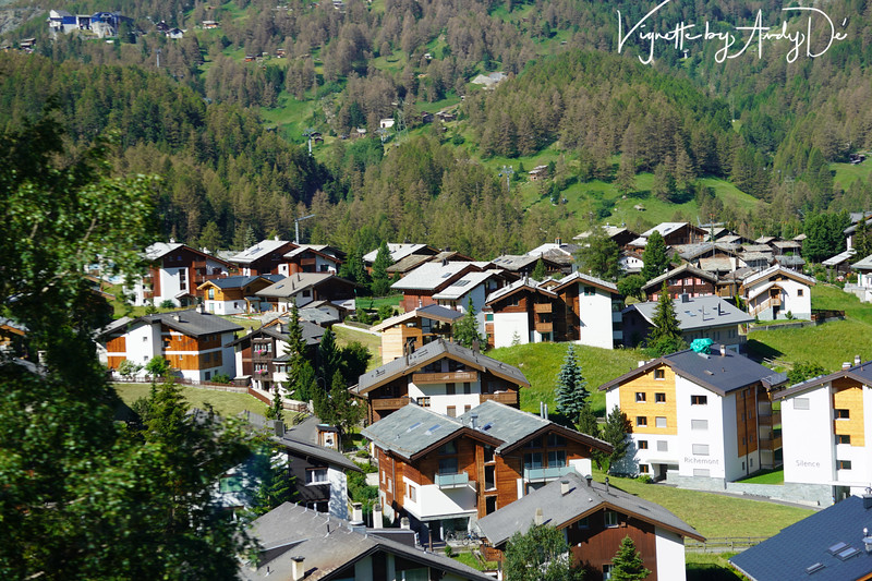 Amazing, panoramic, picturesque vistas of the Swiss Alpine landscape, as seen from the Glacier Express - from Zermatt to St. Moritz!