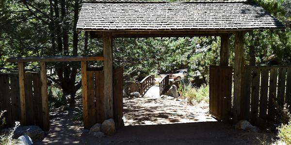 The gate & the small bridge