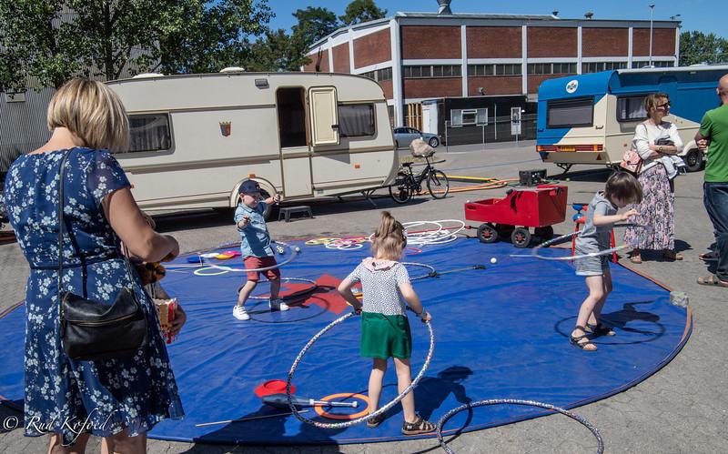 Cirkus-'skolen' er åben og til fri afbenyttelse...