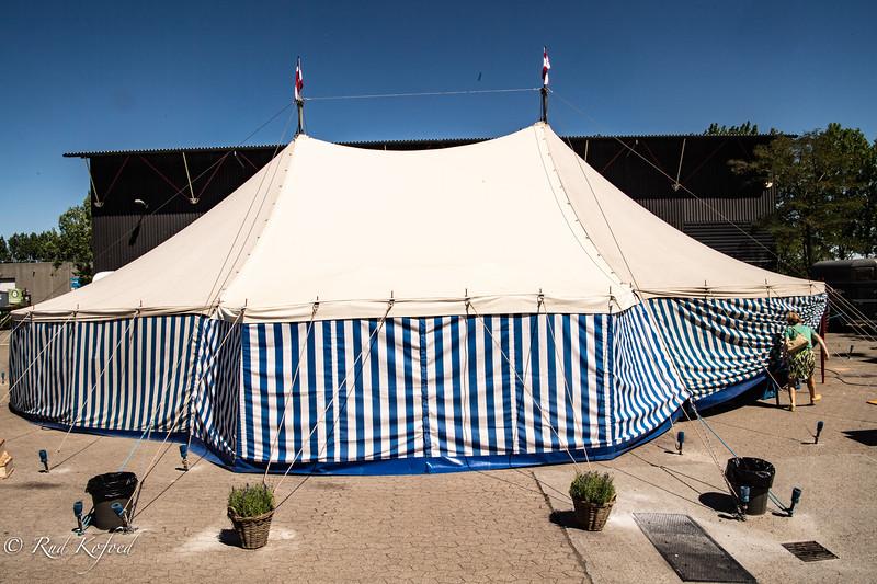 I morgen er der en ny forestilling i Zirkus Barnly