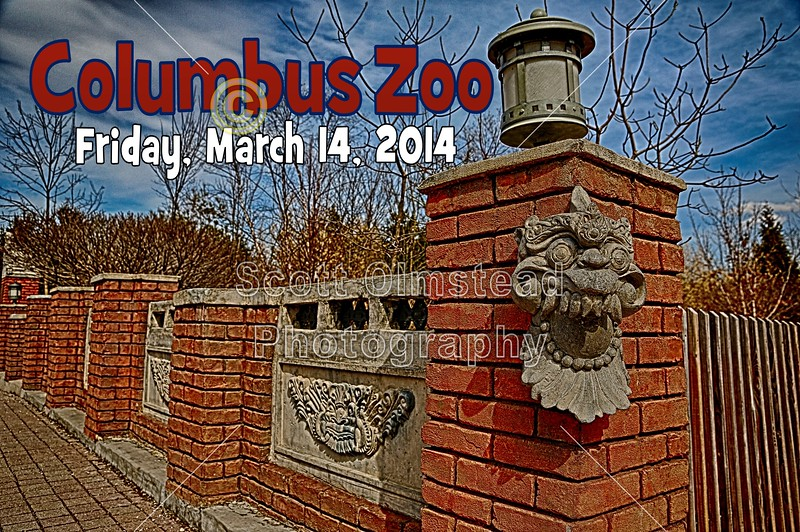 Friday, March 14, 2014 - The Columbus Zoo and Aquarium located in Columbus, Ohio