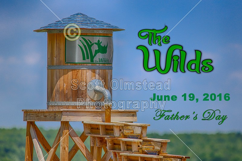The Wilds is located in Cumberland, Ohio - Father's Day - Sunday, June 19, 2016
