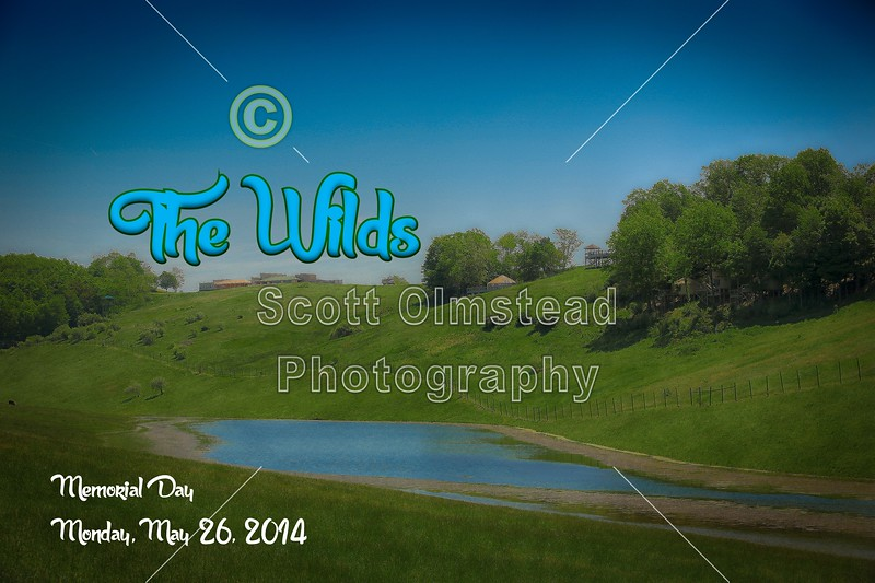 Memorial Day at The Wilds which is located in Cumberland, Ohio - Monday, May 27, 2014