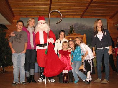 Mikołaj w Domu Podhalan