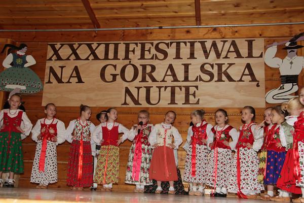 XXXII  Festiwal Na Góralską Nutę