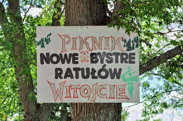 Piknik Koła Ratułów i Nowe Bystre