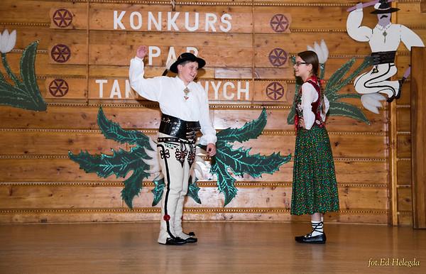 Konkurs Par Tanecznych do XXXV Festiwalu Na Góralską Nutę