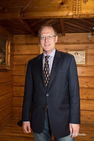 Pożegnanie Konsula Roberta Rusieckiego w Domu Podhalan.