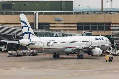 Aegean Airlines Airbus A321-231 SX-DGT 10-9-18