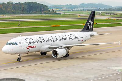 Swiss Airbus A320-214 HB-IJM 10-9-18