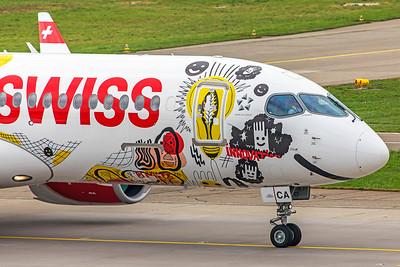 Swiss Airbus A220-300 HB-JCA 10-9-18