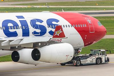 Edelweiss Air Airbus A340-313 HB-JMG 10-9-18