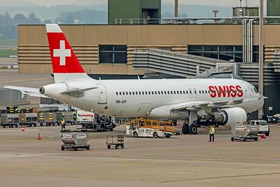 Swiss Airbus A320-214 HB-JLP 10-9-18