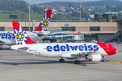 Edelweiss Air Airbus A320-214 HB-JJL 10-9-18