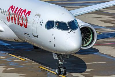 Swiss Airbus A220-300 HB-JCK 10-10-19 5