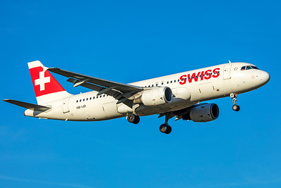 Swiss Airbus A320-214 HB-IJD 2-13-19
