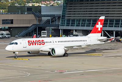 Swiss Airbus A220-300 HB-JCK 10-10-19 7