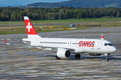 Swiss Airbus A220-300 HB-JCK 10-10-19 2