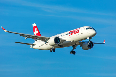Swiss Airbus A220-300 HB-JCP 2-13-19